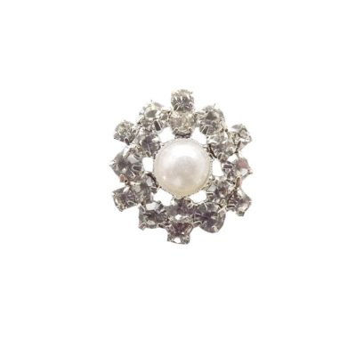 Vintage Diamante and Pearl Embellishment