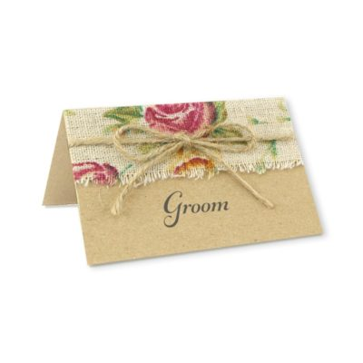Antique Rose Place Card