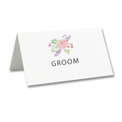 Summer Blossom Place Card