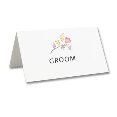 Country Bloom Place Card