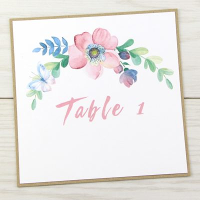 The Spring Field Table Name / Number