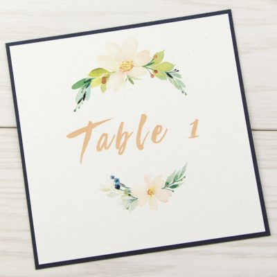 Primrose Table Name / Number
