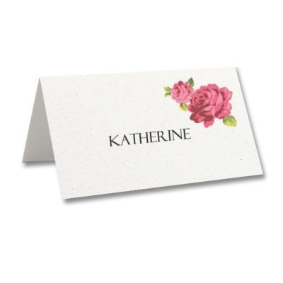 Charlotte Place Card