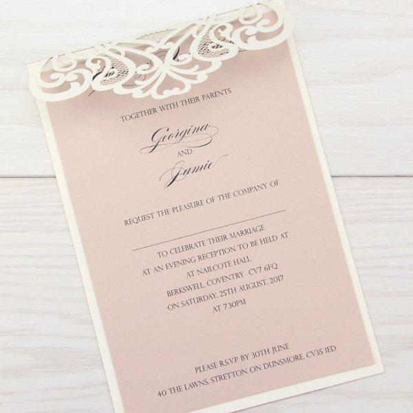Josephine Evening Invitation Pure Invitation Wedding Invites