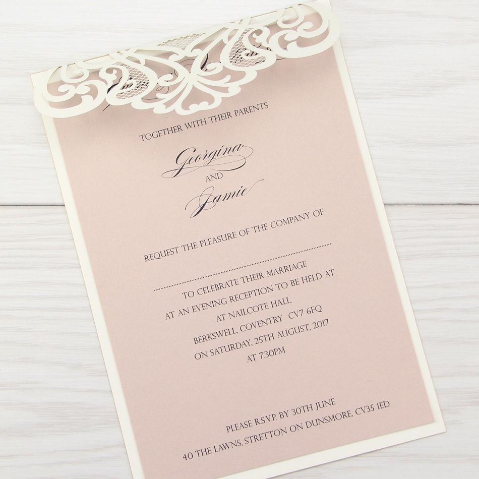 Wedding Invitations Online: Pure Invitation Wedding Invites