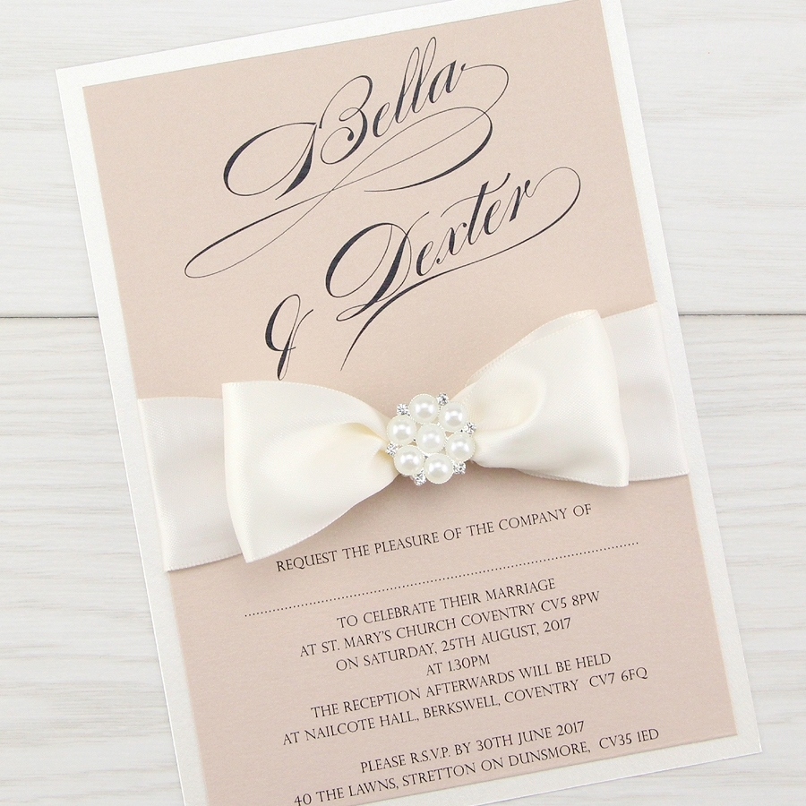 Classic Wedding Invitations | Elegant Wedding Invites | Pure Invitation