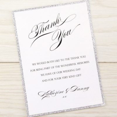 Oscar Thank you Card