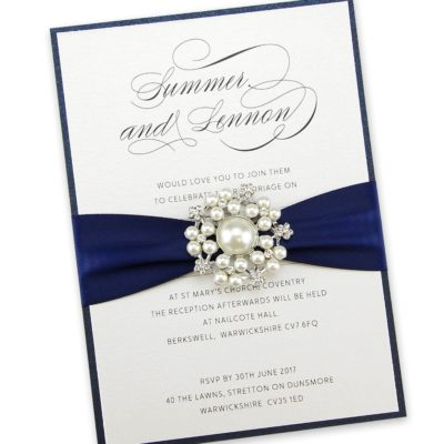 Adriana Parcel Wedding Invitation