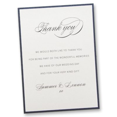 Adriana Thank you Card