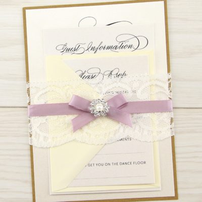 Imogen Parcel Wedding Invitation