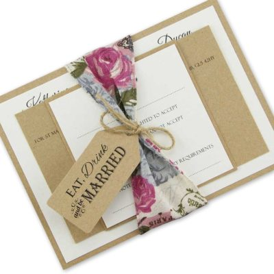 Charlotte Parcel Wedding Invitation