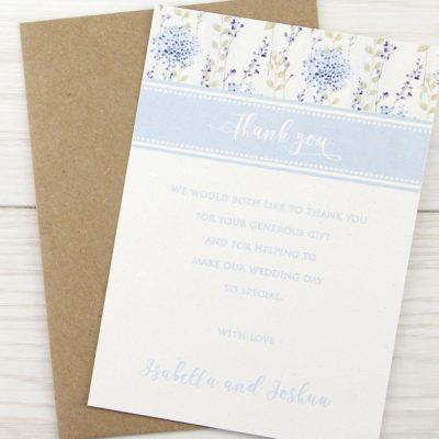 Hattie Thank you Card