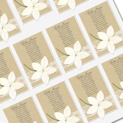 Angel Orchid Table Plan