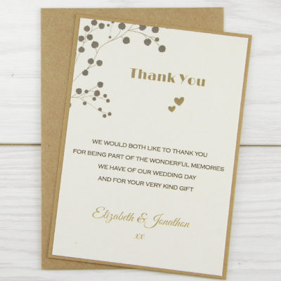 The Barn Thank you Card
