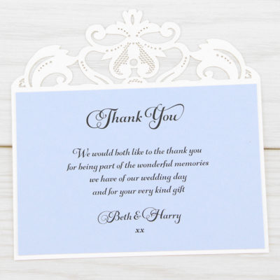 Farrah Thank you Card