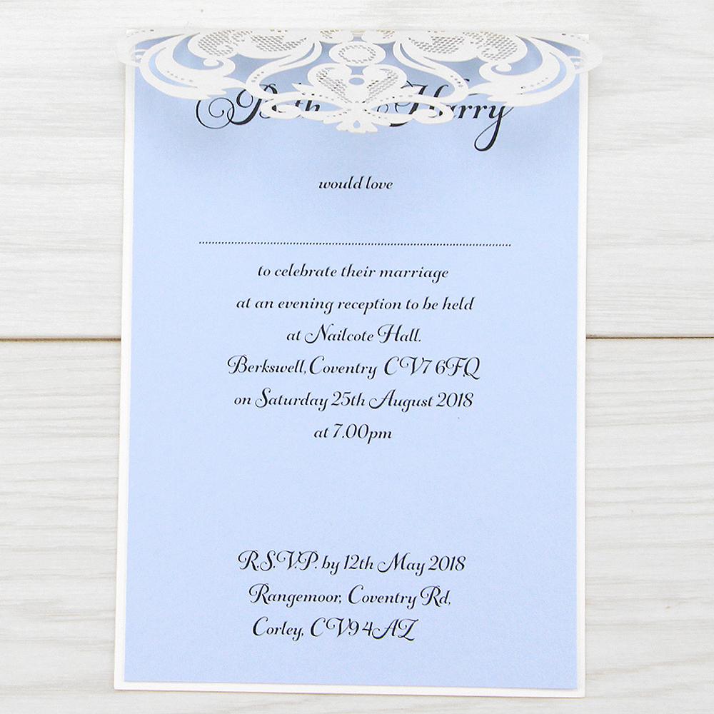Evening Invitations | Pure Invitation Wedding Invites