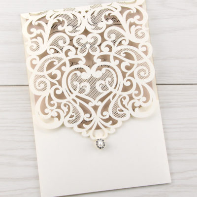 Josephine Laser Cut Wedding Invitation