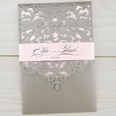 Josephine with Personalised Band Wedding Invitation