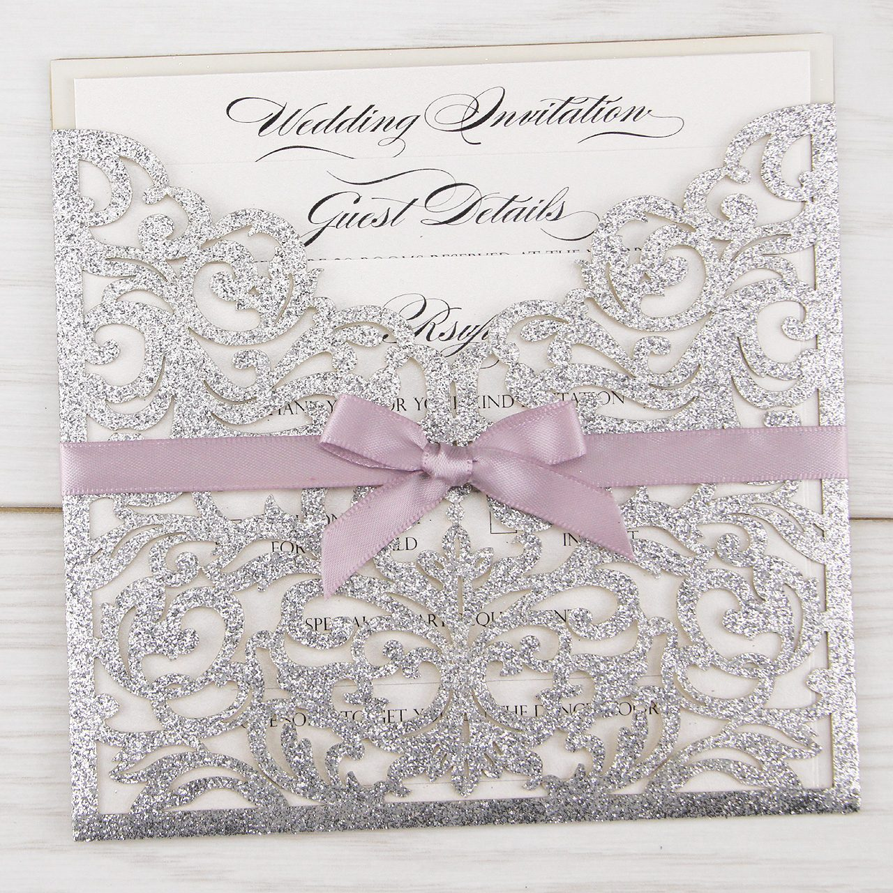 Laser Cut Wedding Invitations | Money Back Guarantee | Pure ...