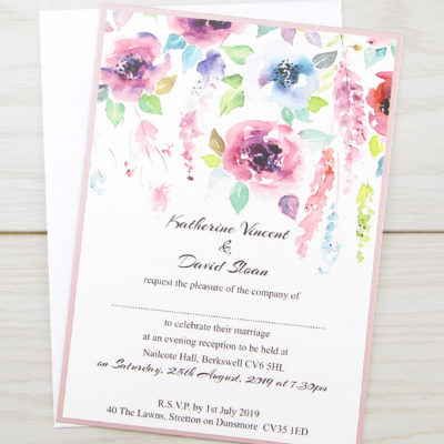 Summer Brights Evening Invitation