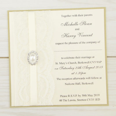 Lace wedding invitations free samples pure invitation wedding vintage lace layered square wedding invitation stopboris