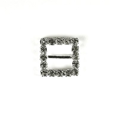 Diamante Square Buckle Mini