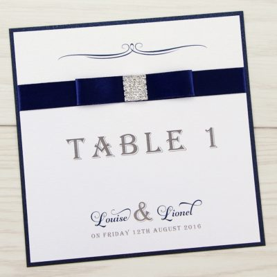 Georgia Table Name / Number