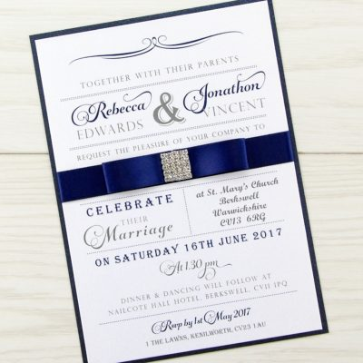 Georgia Parcel Wedding Invitation