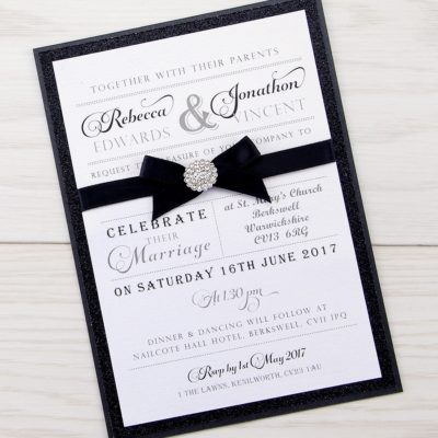 The Regent Parcel Wedding Invitation