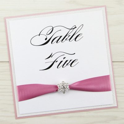 Sparkle Table Name / Number