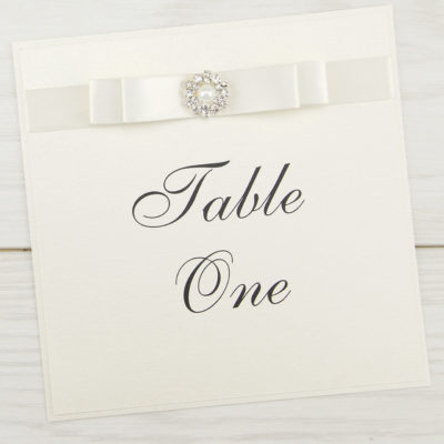 Dior Bow Table Name / Number