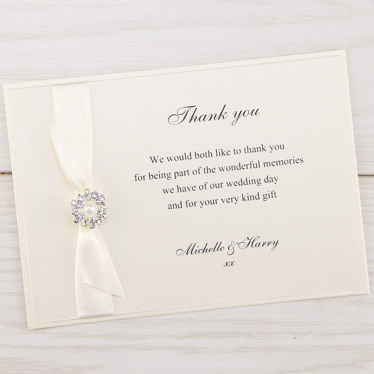 Wedding Thank You Cards | Pure Invitation Wedding Invites