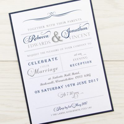 Georgia Evening Invitation