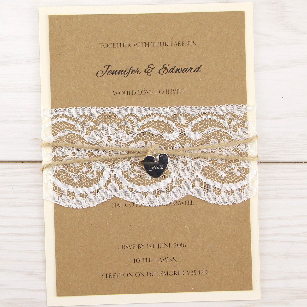 Pure Invitation Wedding Invites