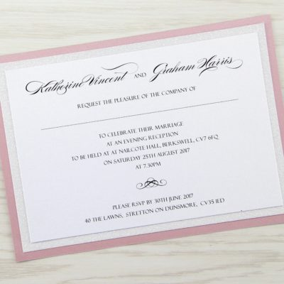 Sparkle Evening Invitation