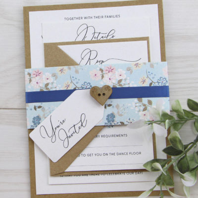 Ella Parcel Wedding Invitation