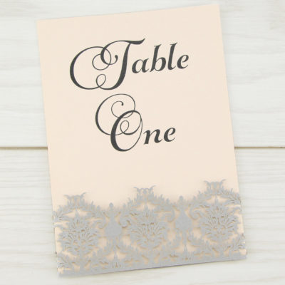 Rosa Table Number