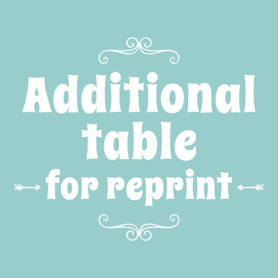 Table Reprint