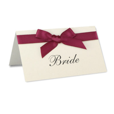 Ribbon Place Card