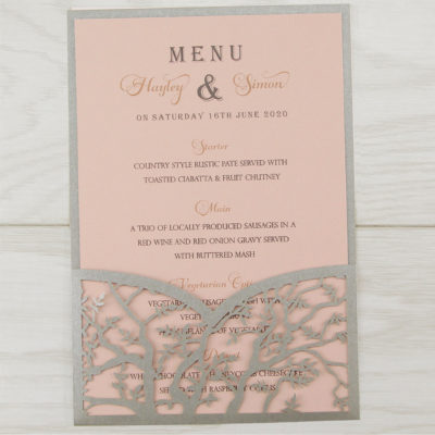 Laurel Tree Contemporary Font Menu