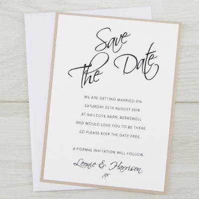 Scriptana Save the Date