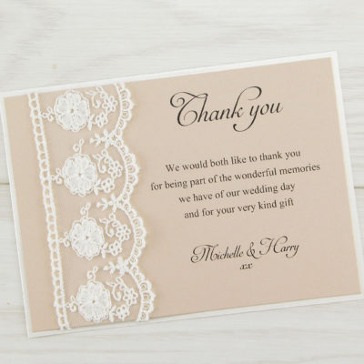 Elizabeth Thank you Card