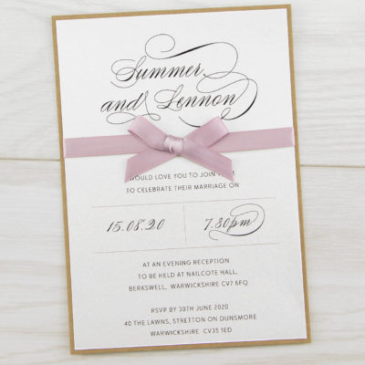 Imogen Evening Invitation