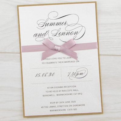 Imogen Evening Invitation