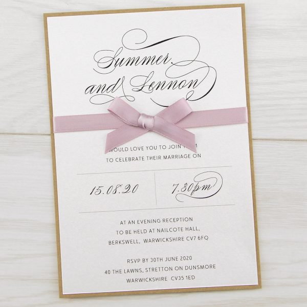 Wedding Supplies Invitation Card Kit Make Your Own 10 Cards