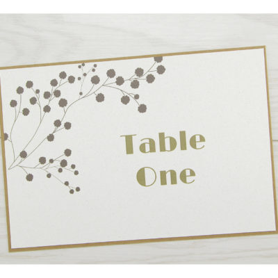 The Barn Table Name / Number