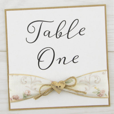 Beatrice Table Name / Number