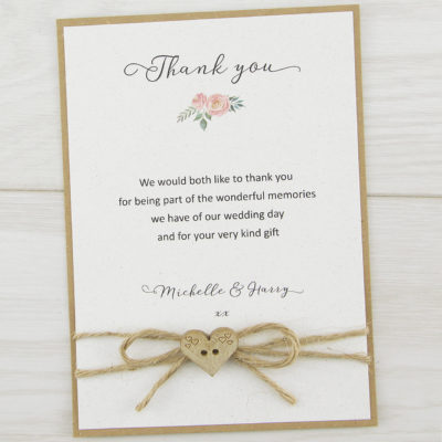 Beatrice Thank you Card