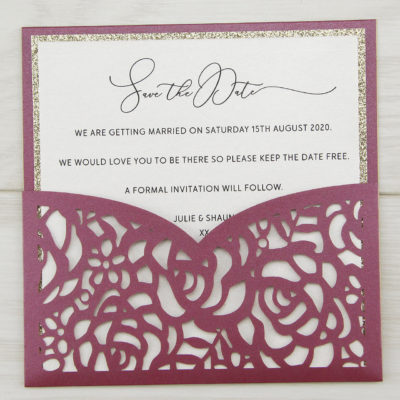 Angel Orchid Save the Date