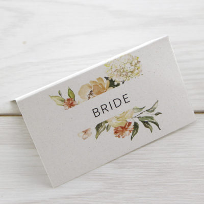 Bryony Peaches Place Card